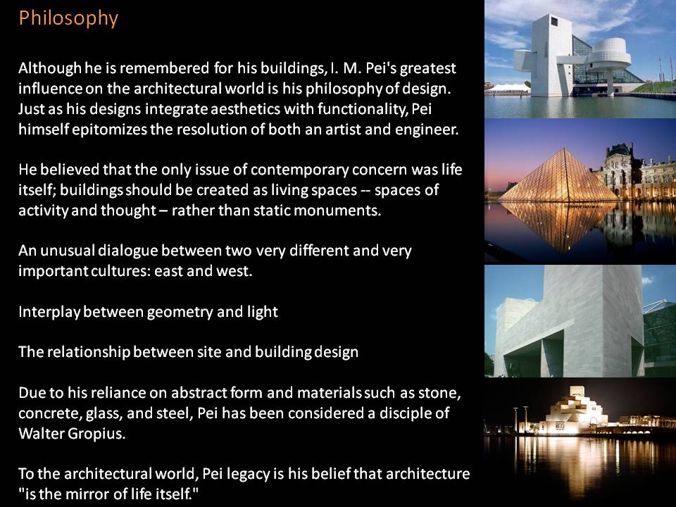 Architecture Design Philosophy i.m.pei – the archi blog