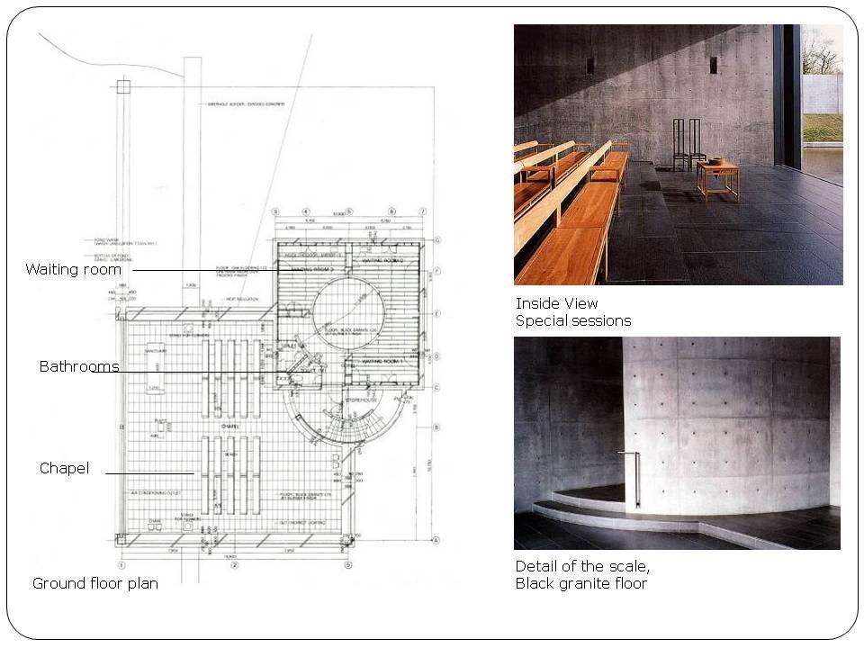 Church Of Light Floor Plan Part - 28: TADAO ANDO U2013 CHURCH ON THE WATER