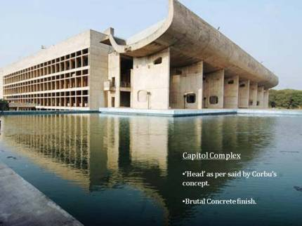 contemporary architecture of india chandigarh city planning le